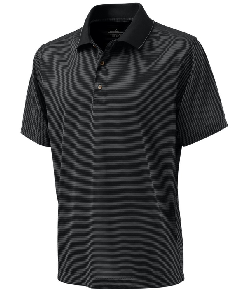 Men?s MicroStripe Polo