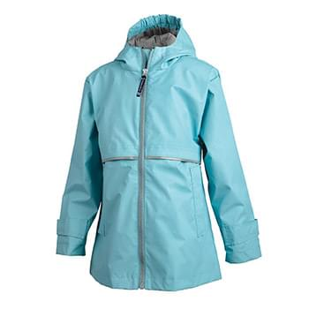 Girls' New Englander Rain Jacket