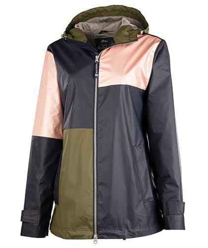 Women's Color Block New Englander Rain Jacket