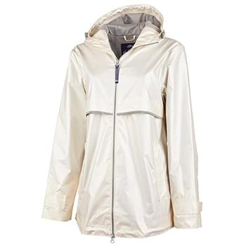 New Englander Rain Jacket (Metallic)