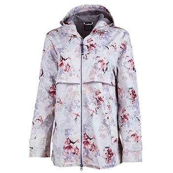 Women's New Englander Floral Printed Rain Jacket