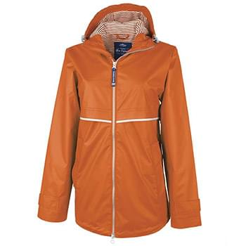 Women's New Englander Rain Jacket With Print Lining